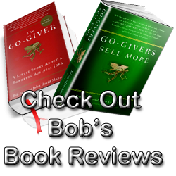 Bob Burg's Book Review Pages
