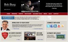 Bob Burg's web Site