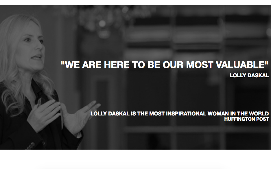 Lolly Daskal Site Image