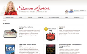 Sharon Lechter's Products